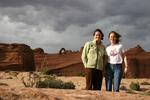 Carol & I at arches NP